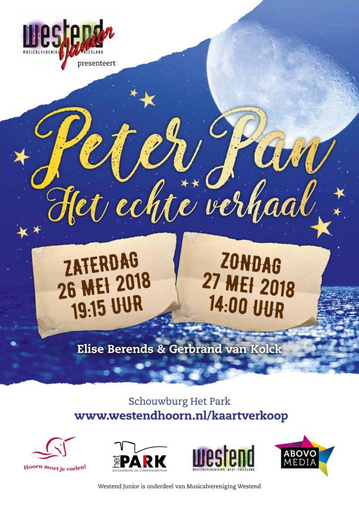 Peter Pan - het échte verhaak | Westend Junior 26 & 27 mei 2018 | het Park, Hoorn